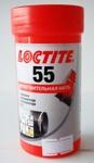 Нить сантехническая герметизирующая тангит LOCTITE 55 катушка 150 метров