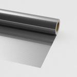 Фольга Пленка гидро-пароизоляционная для бани алюминиевая армированная Олефол Ф11С15П25