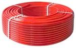 Труба из сшитого полиэтилена wavin 20*2.0 t-95с (с кислородозащитным слоем) красный для теплого пола PEX C
